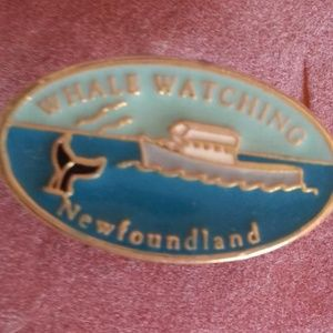 NWOT 🇨🇦Newfoundland Whale Watching Pin